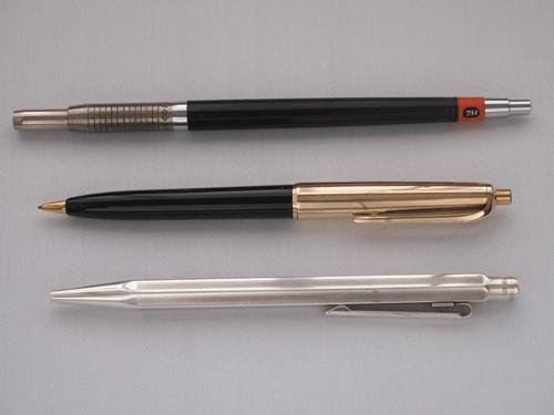 デジタル化で消えるプロの筆記具