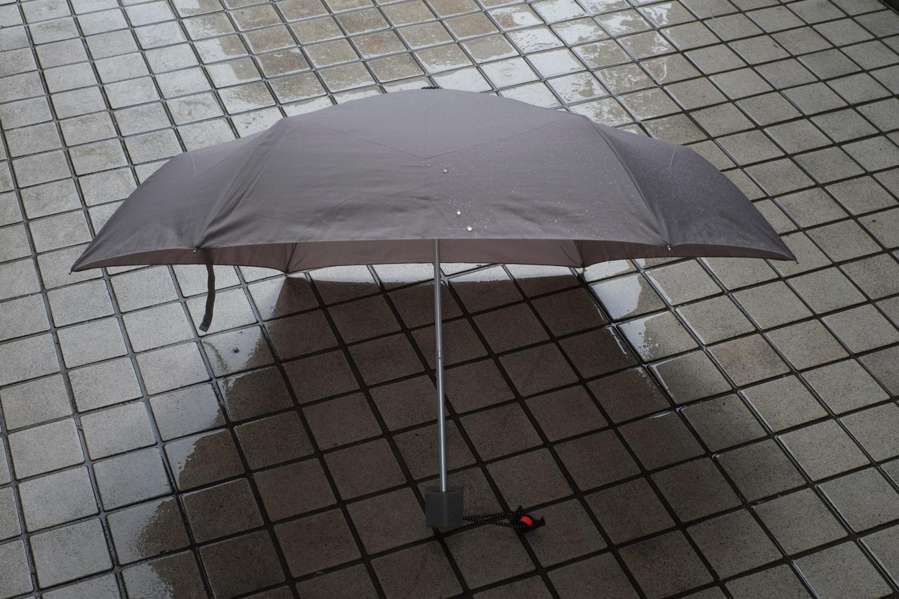 ナノコートという傘の威力