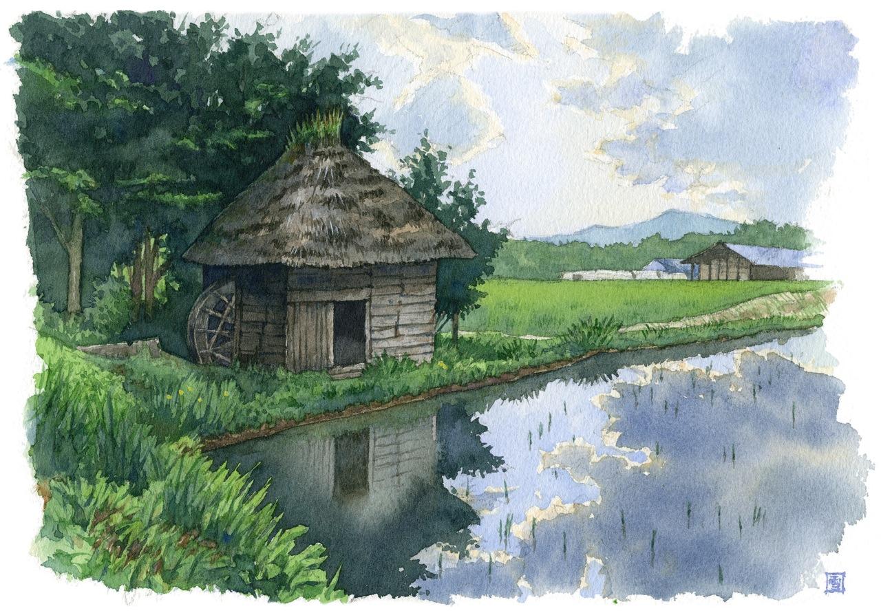 昔風景スケッチ旅「遠野」