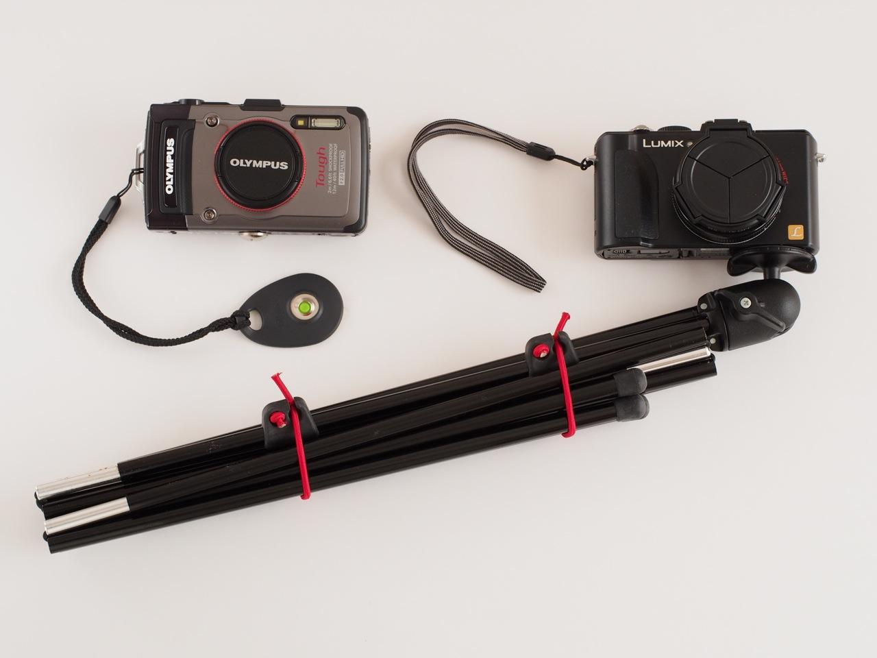 記念写真を撮るための傑作道具があります