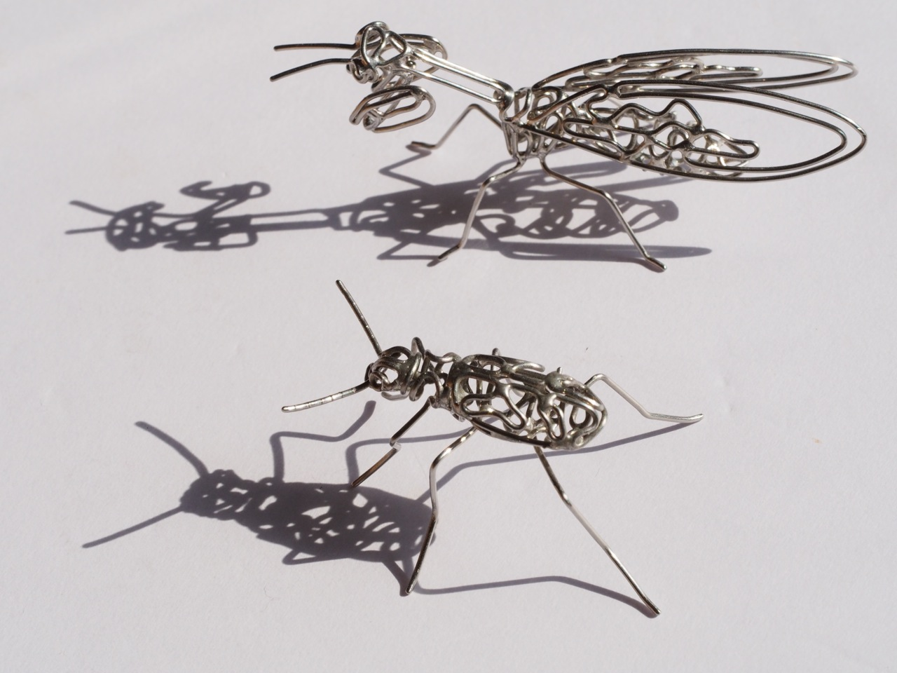 針金一本で表現する3Dアート