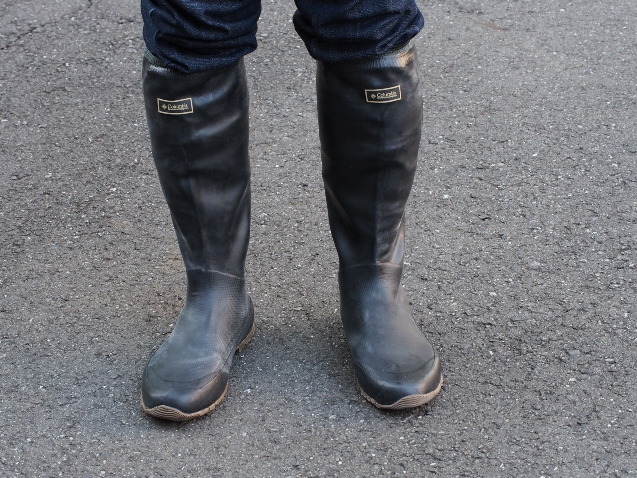 雪の日に履く軽い長靴