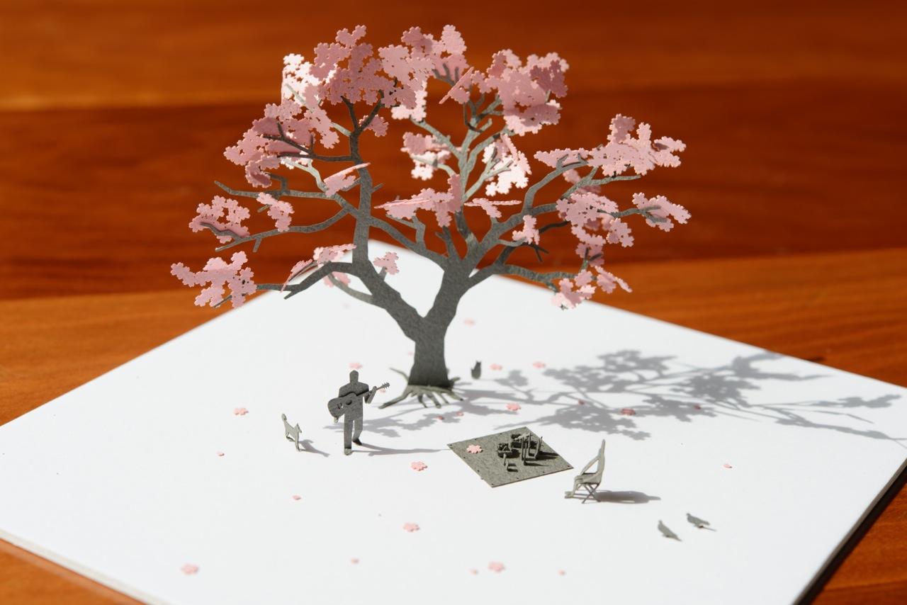 桜の楽しみ方はいろいろあります。