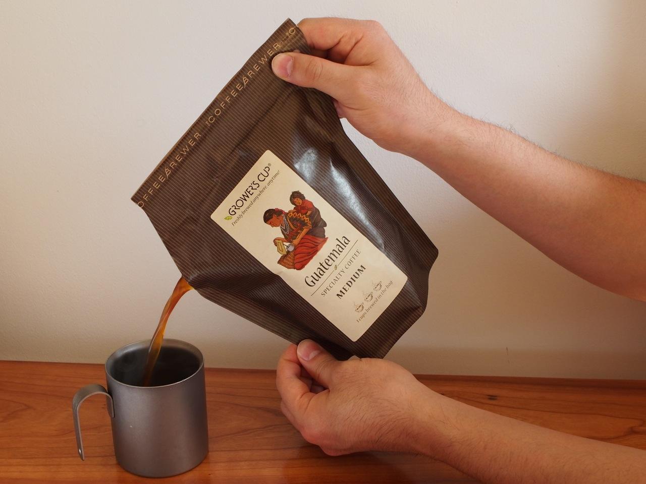 外でも本当に美味しいコーヒーを
