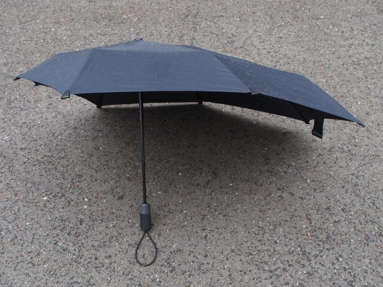 爆弾低気圧用の折り畳み傘