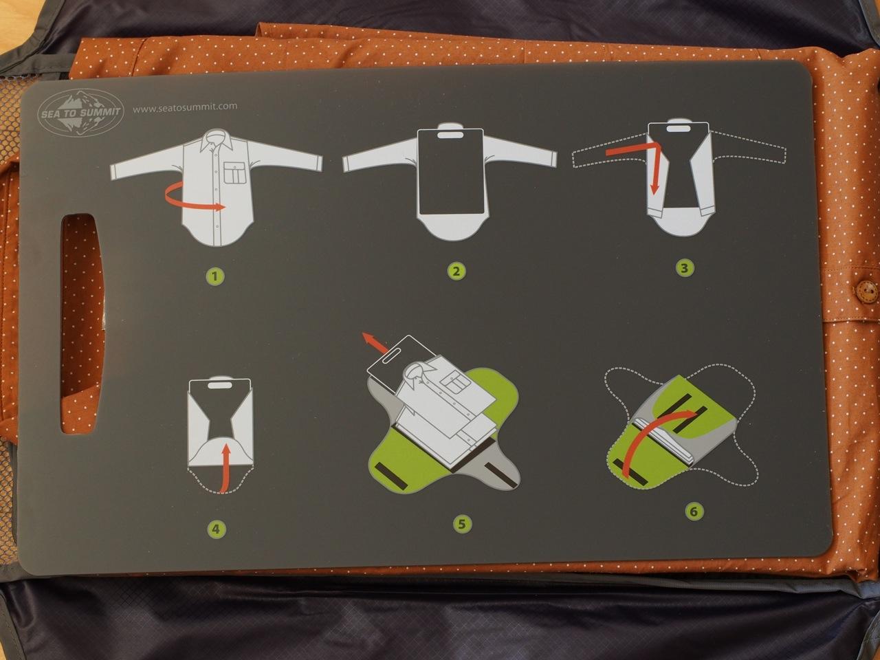 旅の支度が容易になる整理収納バッグ