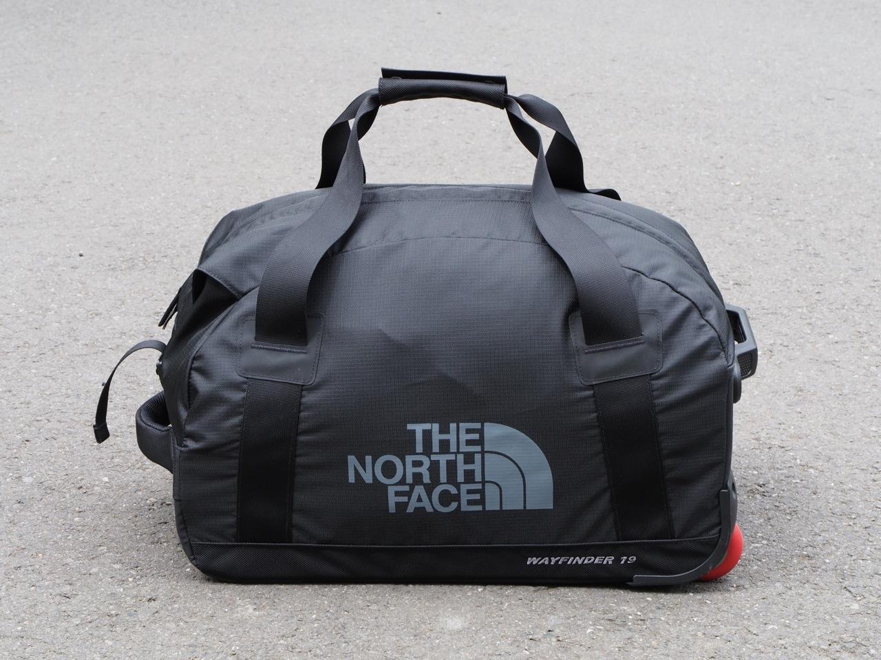 キャスター付き小旅行用ソフトバッグ