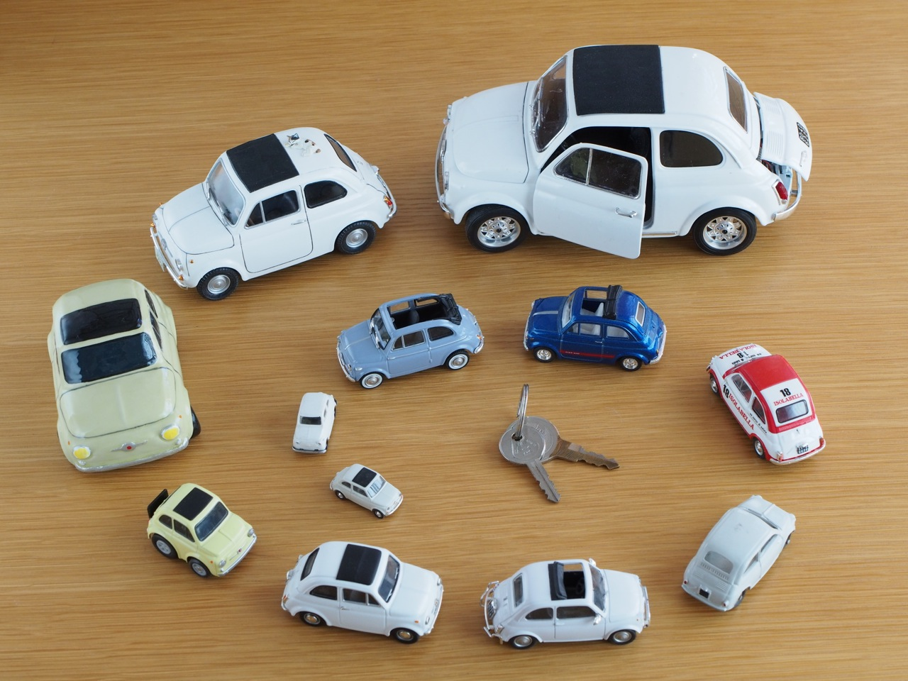 乗った車をモデルカーでコレクション