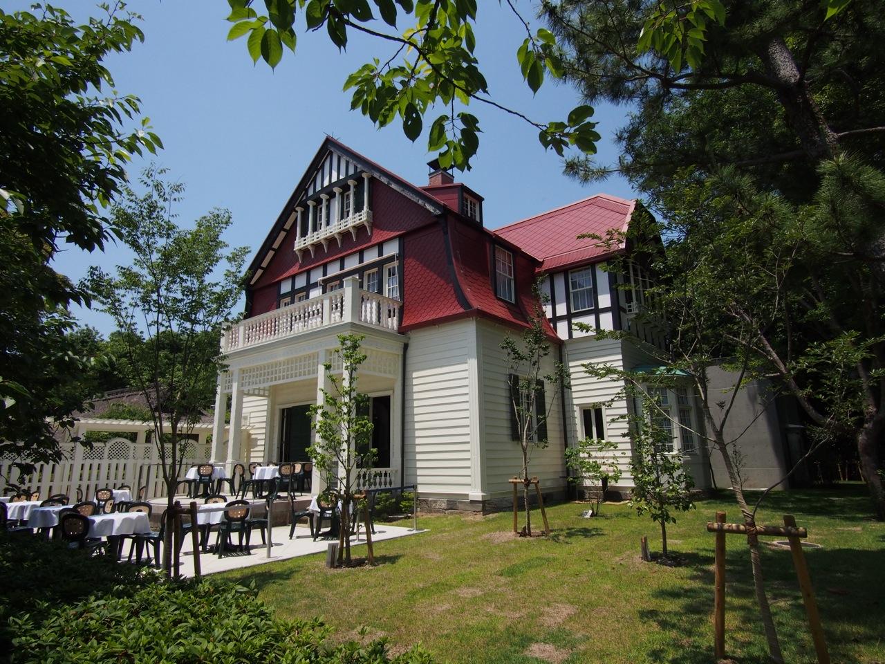 江戸東京たてもの園の新顔、デ・ラランデ邸?