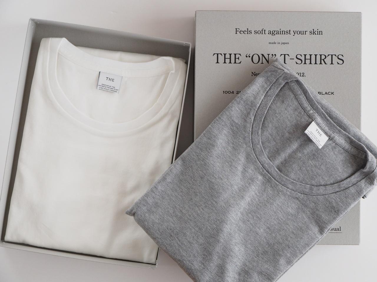 ジャケットやブルゾンの下に着る上質のTシャツ
