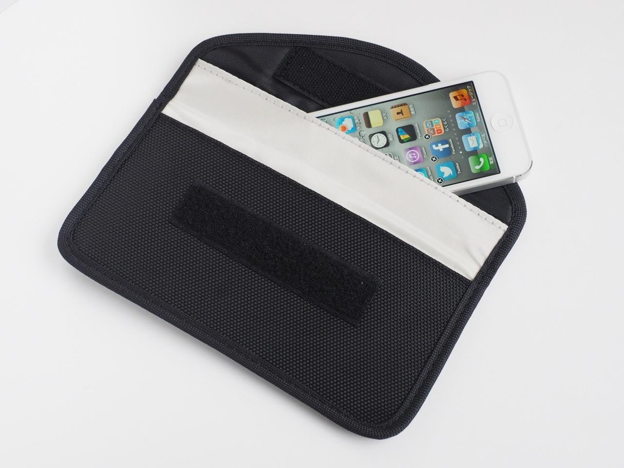 スマホ、携帯用電波遮断バッグ