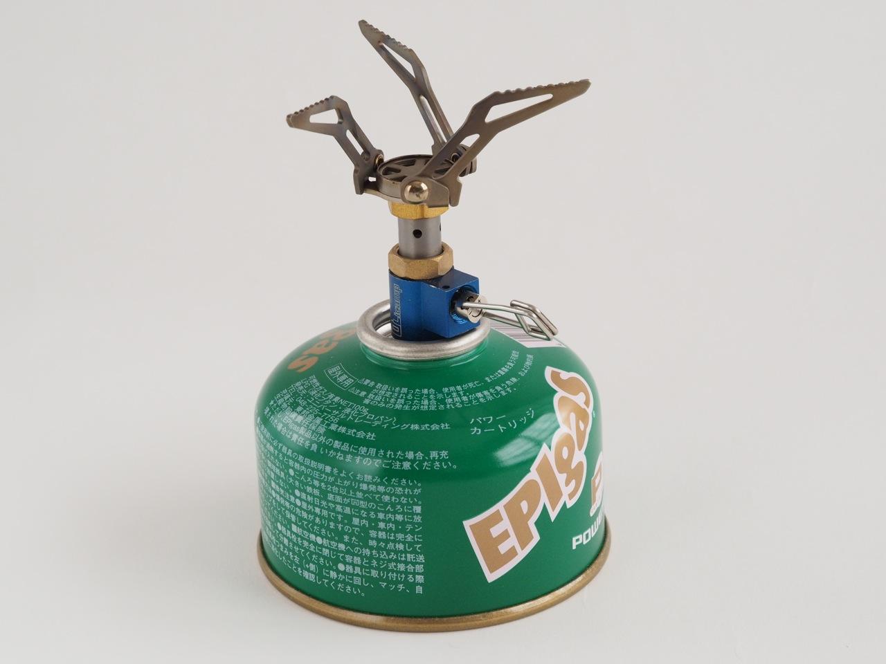 最小最軽量の究極のガスコンロ