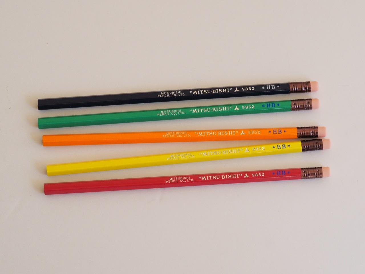 消しゴム付き鉛筆の新色、限定発売