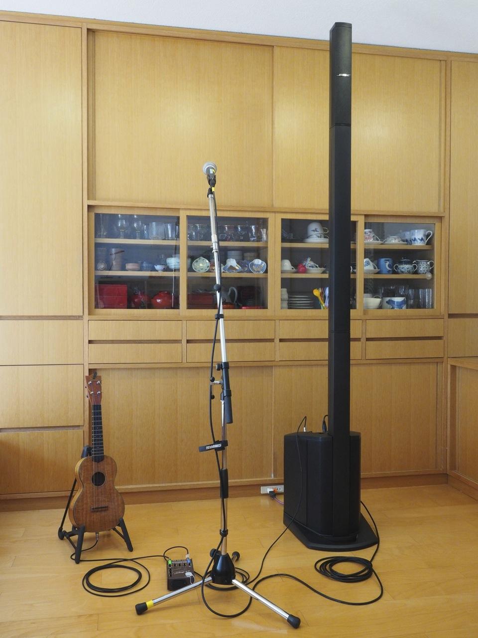 マイクや楽器を使う集まりに最適音響装置