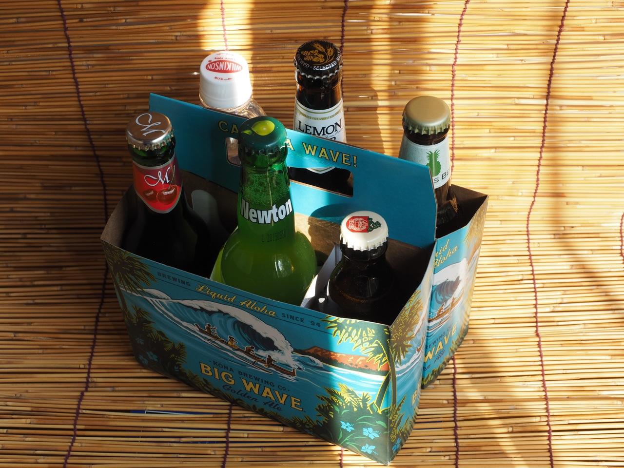 フルーツビールという夏向きの飲み物があります