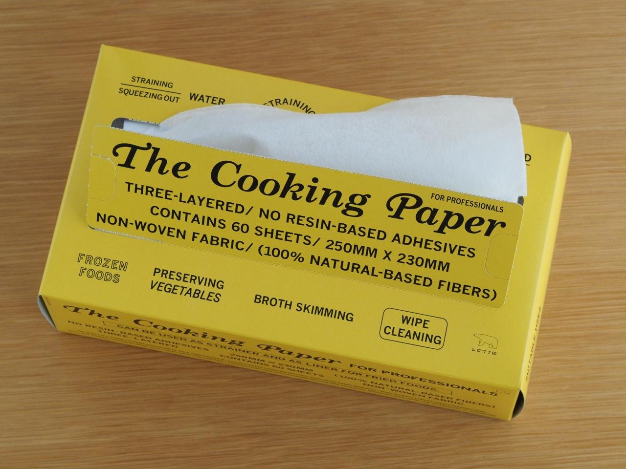 料理はもちろん道具の手入れに万能の不織布
