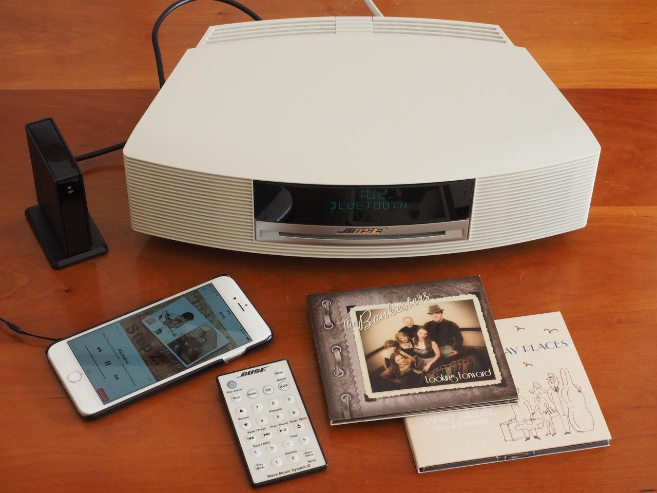 コンパクトで少し上質のCDラジオ探し