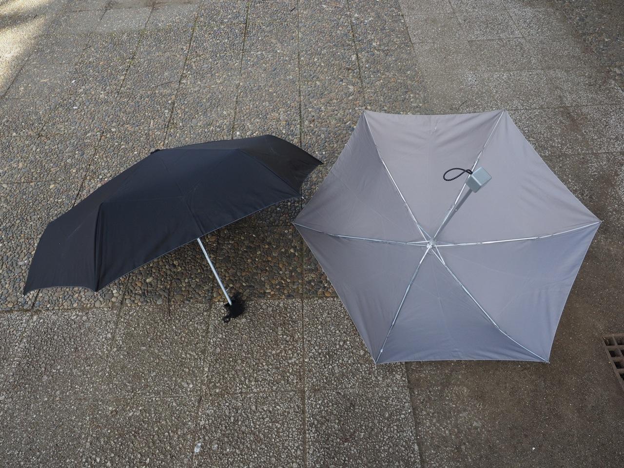 3年目の濡れないナノコート傘レポート