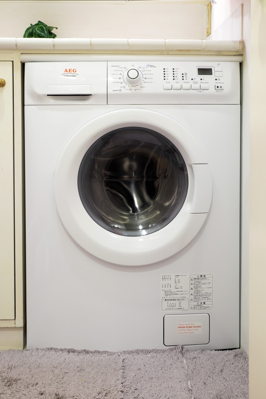 「不変」が思想のドイツ製ドラム式乾燥洗濯機