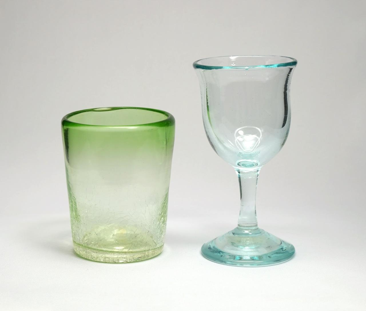 リサイクルの元祖・奥村硝子製作所の琉球ガラス