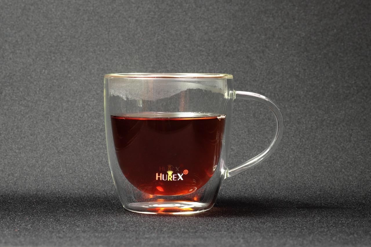 朝のコーヒーはダブルウォール・カップで