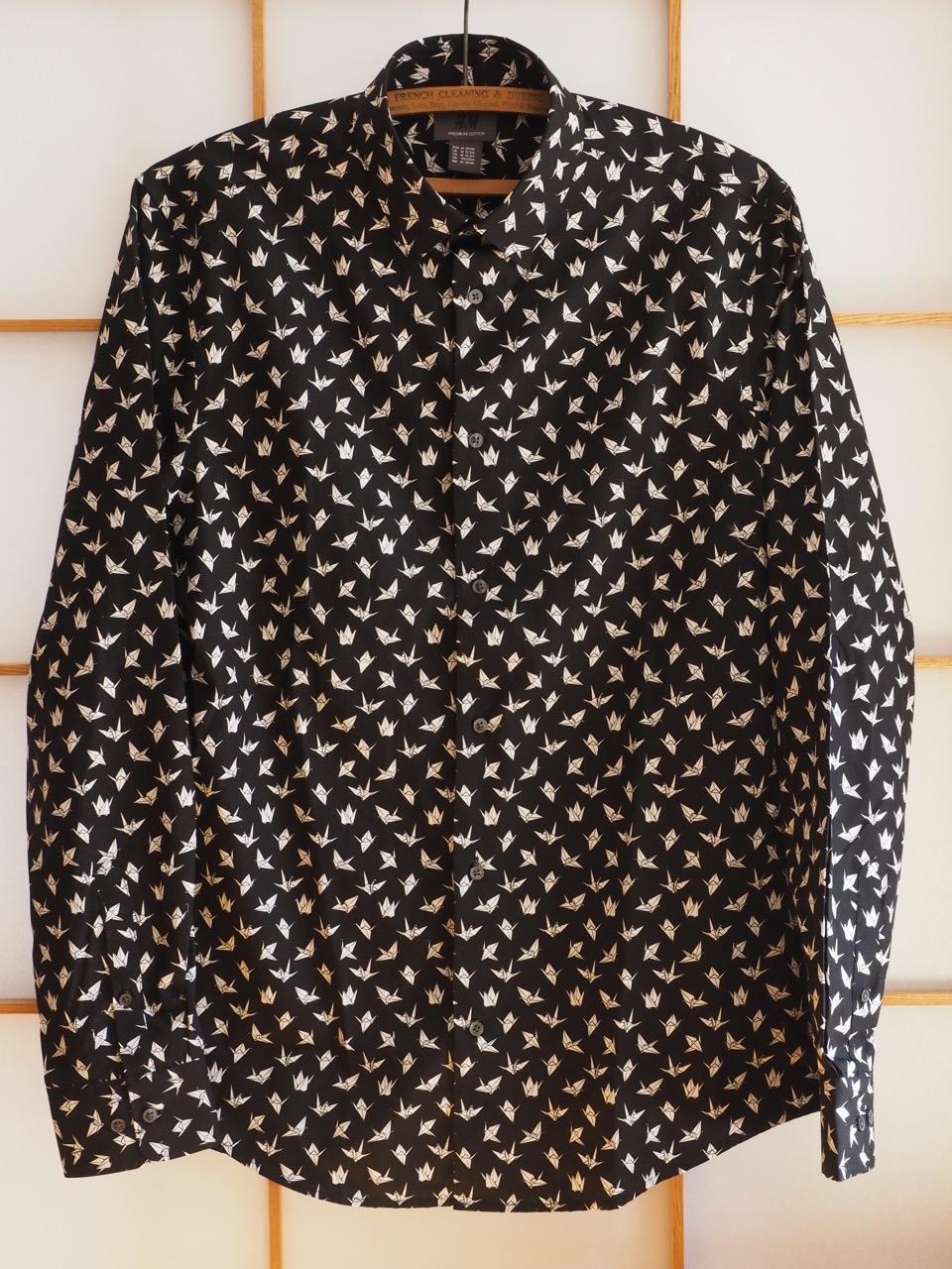 日本人、特にシニア向きの優しいシャツ