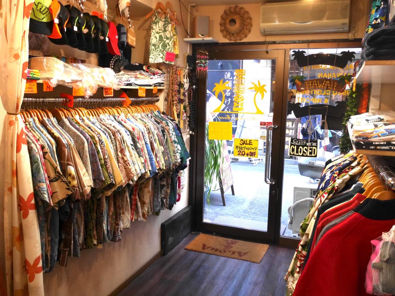 一年中ハワイ産アロハシャツが買える店