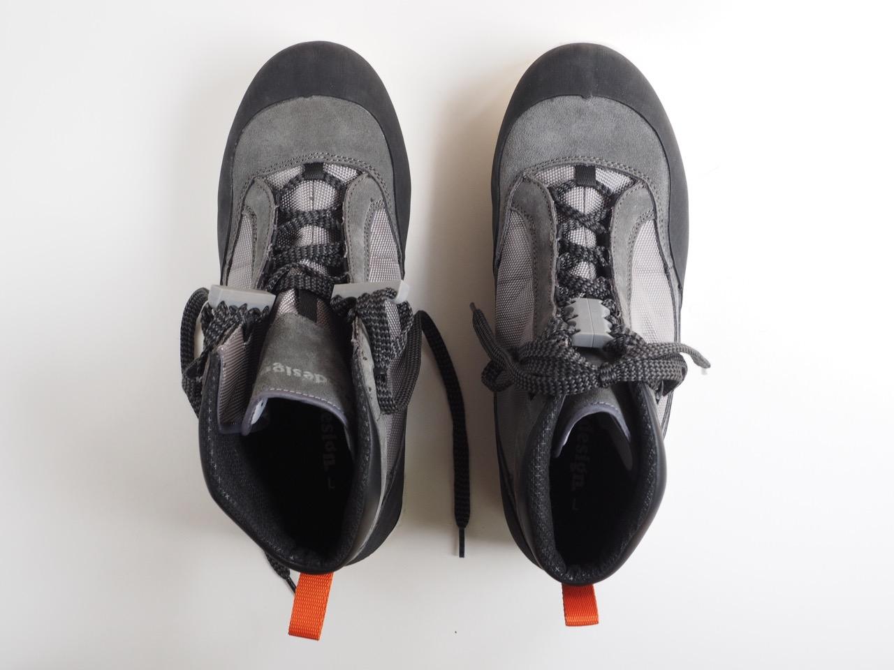 ブーツタイプの靴に実用的な新兵器