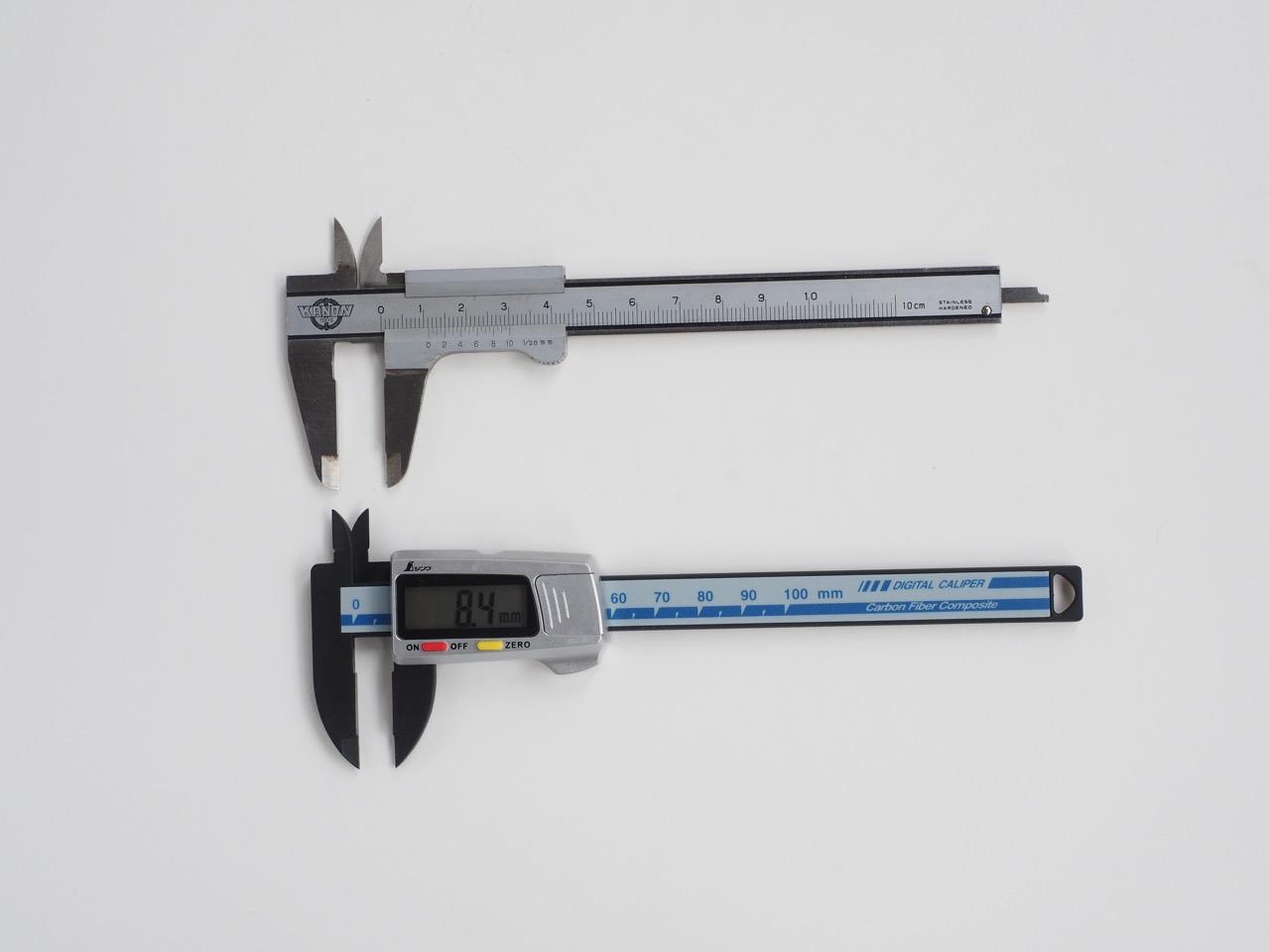 ちょっと寸法を測る時のデジタルメジャー