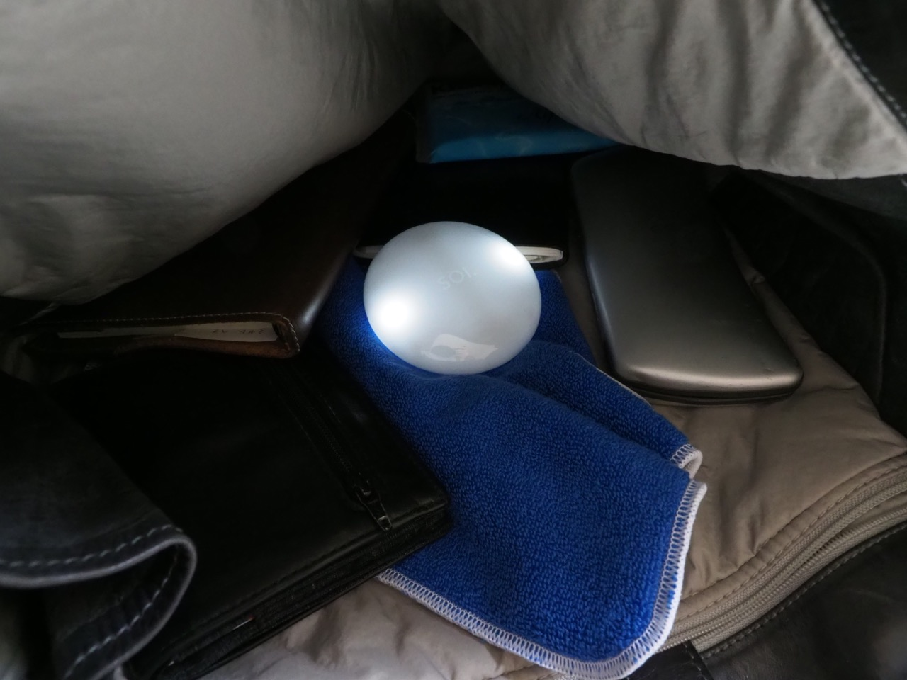 夜、これがバッグの中にあると助かります
