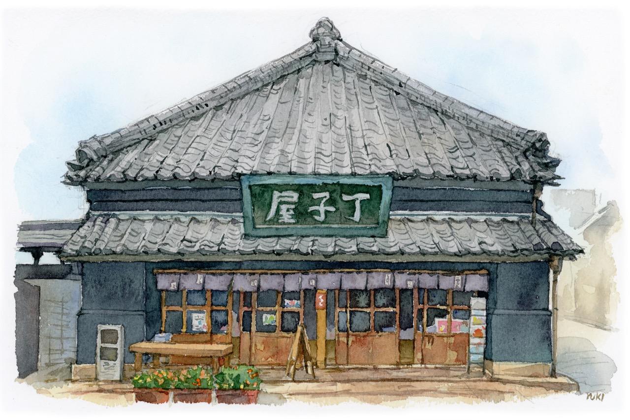 歴史の街並みファンの穴場、石岡の看板商家
