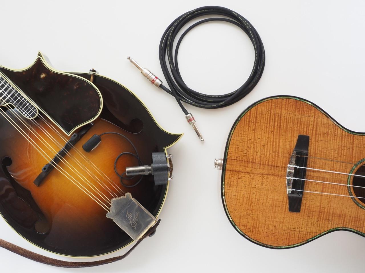 小さな弦楽器のための最小最軽量ケーブル