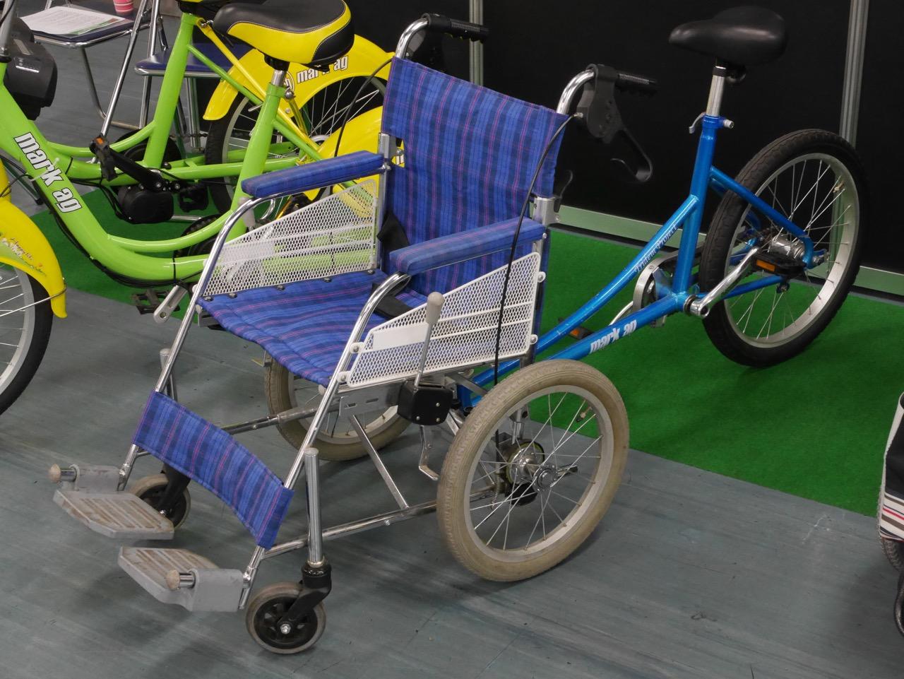 職人の自転車展でみつけたシニア用サイクル