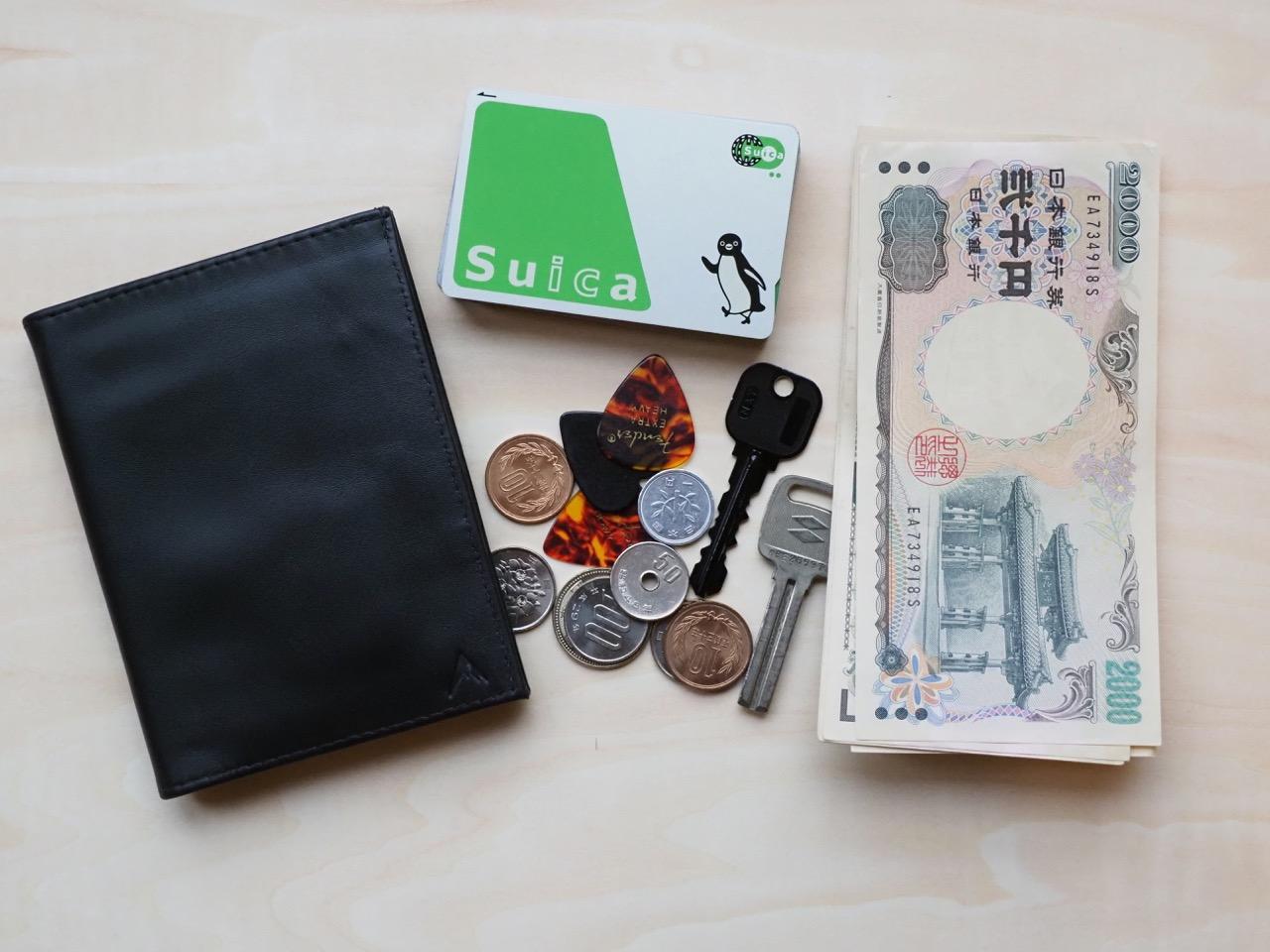 カードは増えるけど現金も使う日本のサイフ