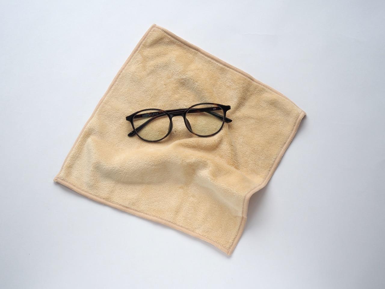スマホもメガネも拭ける手拭い