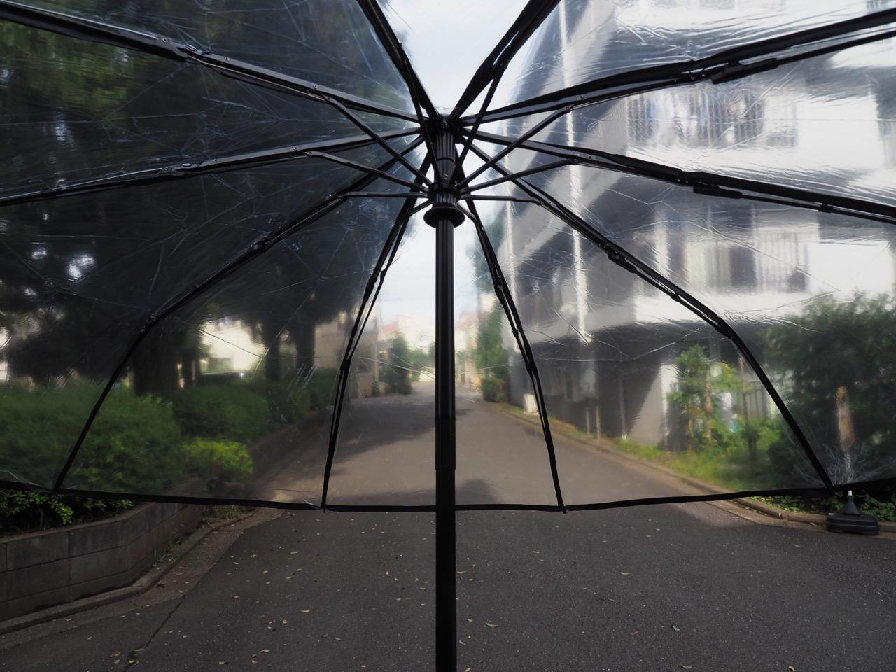 折りたたみビニール傘で見える化