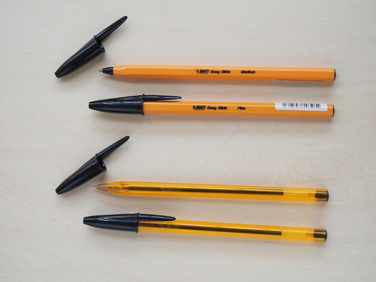 あの黄色いボールペンが廃番