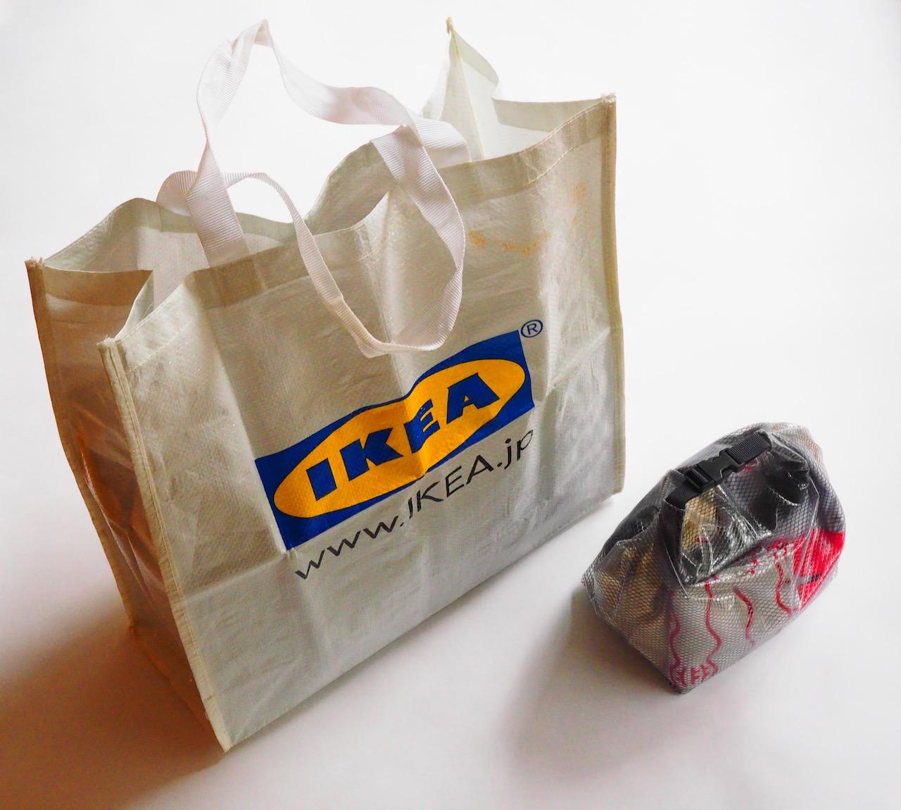 軽量コンパクトなバッグはイケア